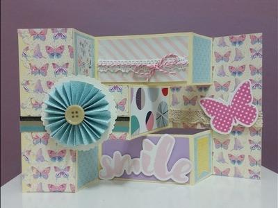 DIY#12: Tri Fold Shutter Card Tutorial