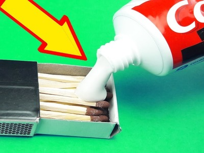 DIY | 4  AWESOME TOOTHPASTE LIFE HACKS AND CREATIVE IDEAS