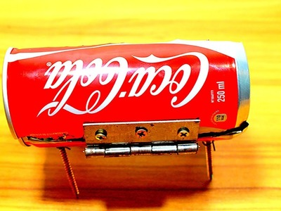 DIY Amazing mini BBQ  COCACOLA  can at home  ndp gear