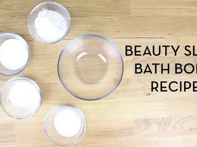 DIY Bath Bomb for Beauty Sleep