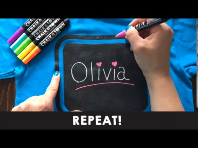 DIY Create Your Own T-Shirt - Great Gift For Kids!