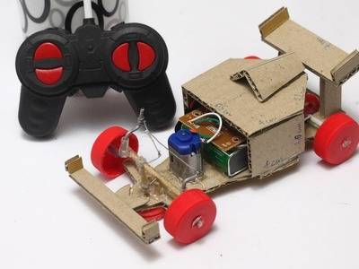 DIY Formula 1 Car using Remote Control at Home