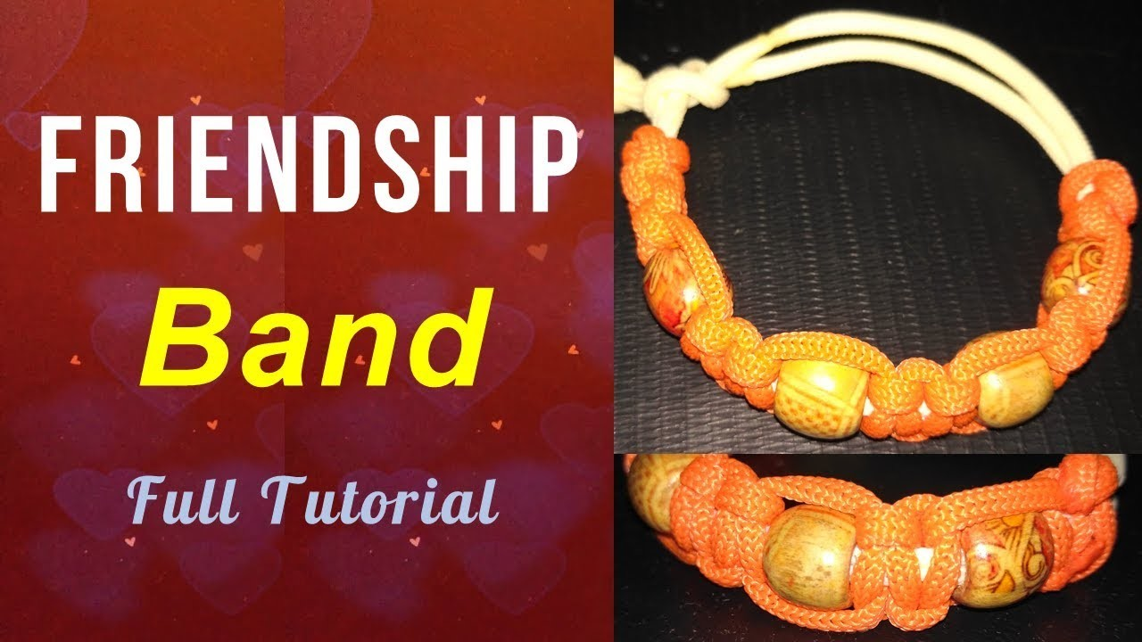 DIY Friendship Band | How to Make Macrame Friendship Band. फ्रेंडशिप बेंड बनाना सीखें  | Macrame Art