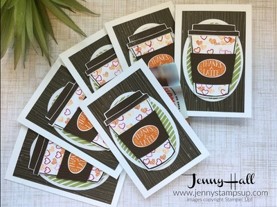 DIY Gift Card Holder using Stampin Up products with Jenny Hall