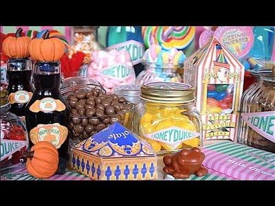 DIY Harry Potter Sweets | Every Flavour Beans, Chocolate Frogs & Pumpkin Juice