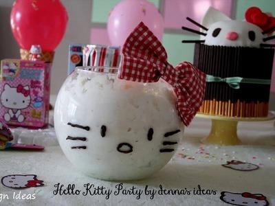DIY Hello Kitty Party Decorations Ideas