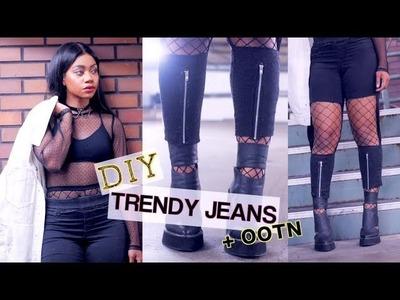 DIY Instagram Jeans + Lookbook (Easy)