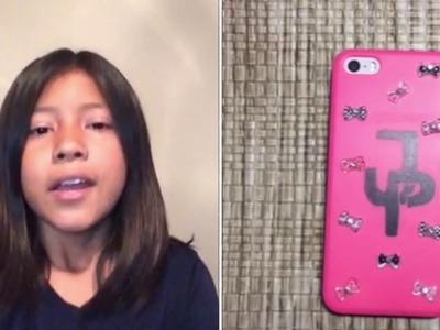 DIY Jake Paul Phone Case (Shelby's B-Day Gift)