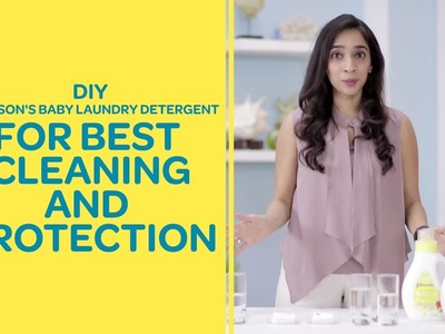 DIY - Johnson's Baby Laundry Detergent For Baby's Clothes | Best For Baby