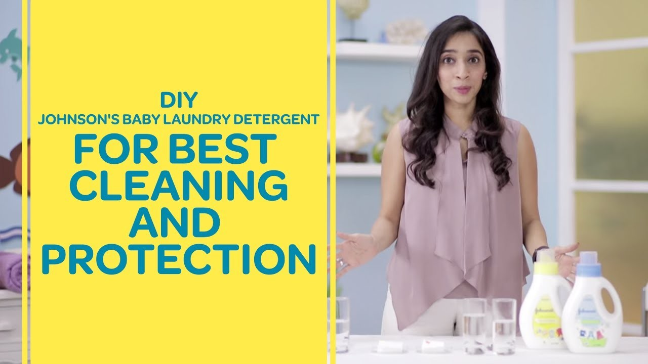 DIY - Johnson's Baby Laundry Detergent For Baby's Clothes   Best For Baby