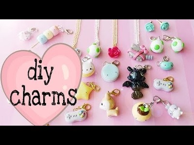 _DIY lover_ diy easy and beautiful charms without clay ????