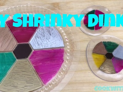DIY Upcycle Turn a takeout plastic container into Shrinky Dinks