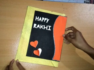 Easy Rakhi card making tutorial