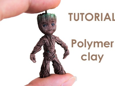 [ENG] Baby Groot Tutorial with clay