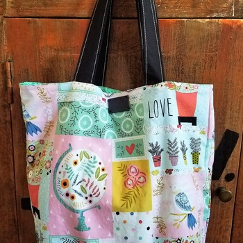 Garden Love Market Bag