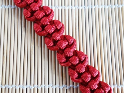 Great Wall Knot Paracord Bracelet Tutorial
