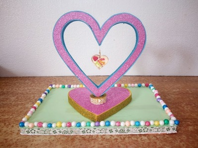 Heart showpiece || DIY || Valentine gift articel