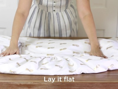 How to Fold a Fitted Sheet Tutorial