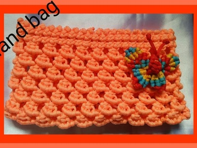 Macrame bag tutorial ( part - 1)