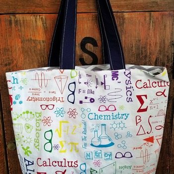 Math market bag