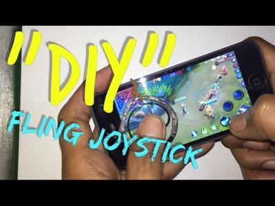 """MOBILE LEGENDS """"DIY"""" Fling Joystick low budget"""