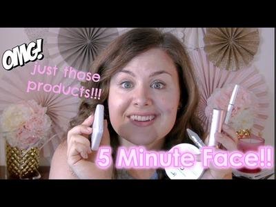 4c54042a850 My 5 Minute Makeup Tutorial