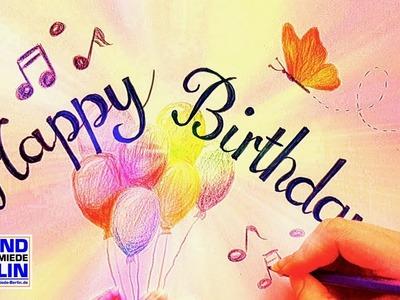 NEW Happy Birthday Song, ❤, Happy Birthday Wishes DIY Birthday Card Birthday Song 2017 Elly Mc Dream