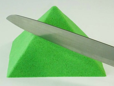 Oddly Satisfying Video | DIY Make a Pyramid from Kinetic Sand!