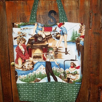 Outdoor Pin Up market bag
