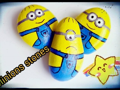 Painted Rocks| Part-2 | Minions Stones | DIY Painted Rock Art