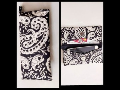 PART 1 on DIY on simple mobile.cash.card pouch