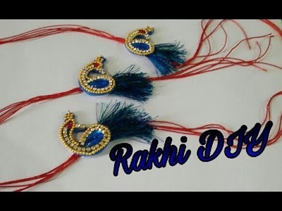 Peacock Rakhi Tutorial