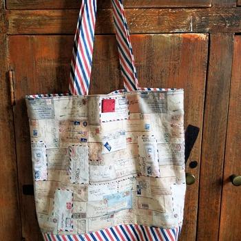 Postal Letters Market Bag