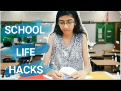 School Hacks + Back to school Giveaway   DIY INDIA