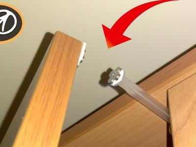 Shock absorber for furniture DIY. How to make cabinet door soft close (damper)