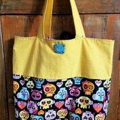 Skull Market Bag