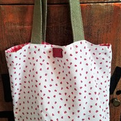Strawberry Market Bag