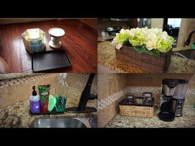 Thrifting Finds From Goodwill| Flower Box DIY| Kitchen Counter Declutter