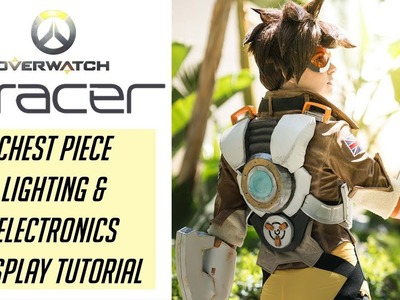 Tracer Cosplay Tutorial - Lights & Electronics