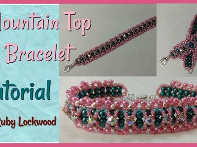 (Tutorial) Mountain Top Bracelet ( Video 192)