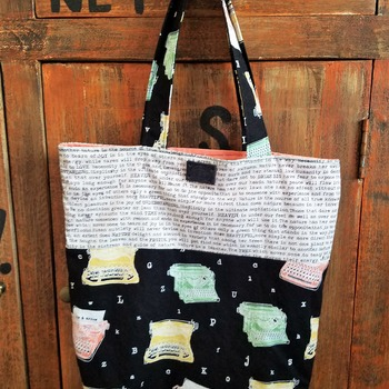 Typewriter Market Bag