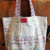 Vintage Postal Market Bag