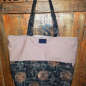 Wine Barrel Market Bag