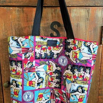 Wonder Woman market bag