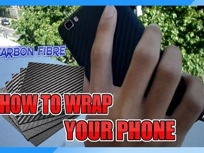 Wrap Your Own Phone DIY with Carbon Fiber Under $5