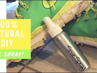 100% Natural DIY Shoe Deodorizing Spray   With Which Hazel & Essential Oils