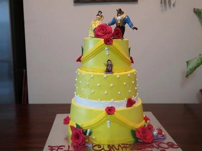 Beauty & the Beast Cake | Disney Party Ideas | DIY & How to