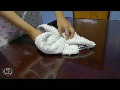 DIY - 4 Easy Ways To Fold A Towel Like They Do At Hotels