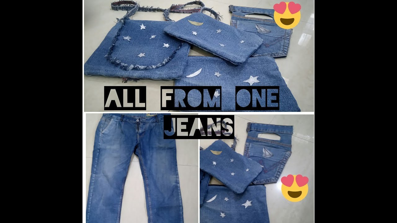 DIY: All From One Jeans