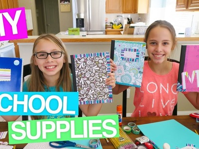 ????????DIY BACK TO SCHOOL SUPPLIES!! DECORATING PLANNERS, NOTEBOOKS AND FOLDERS!!
